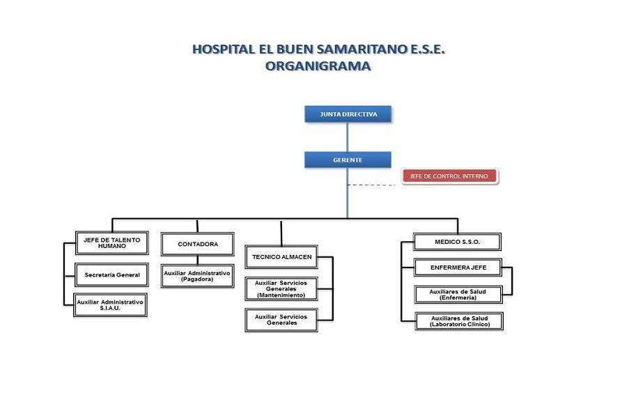 Organigrama Hospital El Buen Samaritano E S E